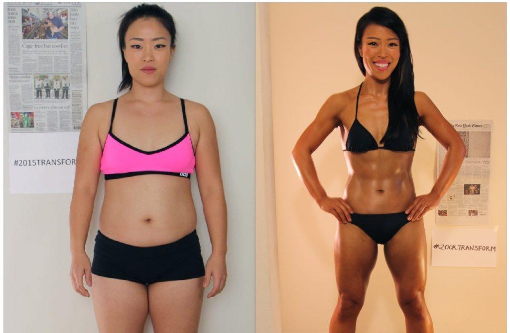 side by side nina before and after 1024x722 e1518775817598 - Garcinia Cambogia สารสกัดส้มแขกเข้มข้น 100% ลดน้ำหนัก บล็อคไขมัน ระงับอยากอาหาร เผาผลาญมากกว่าออกกำลังกายถึง 3 เท่า